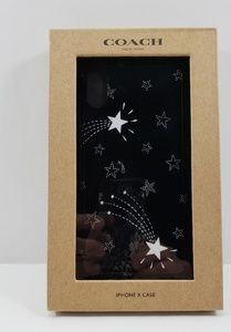 coach shooting star I phone x phone case